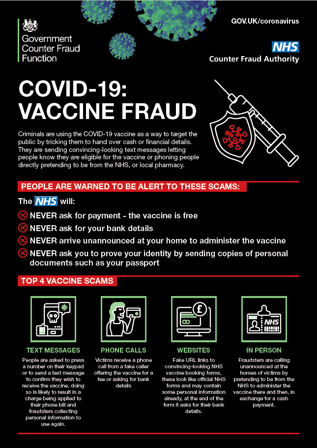 vaccine fraud Poster