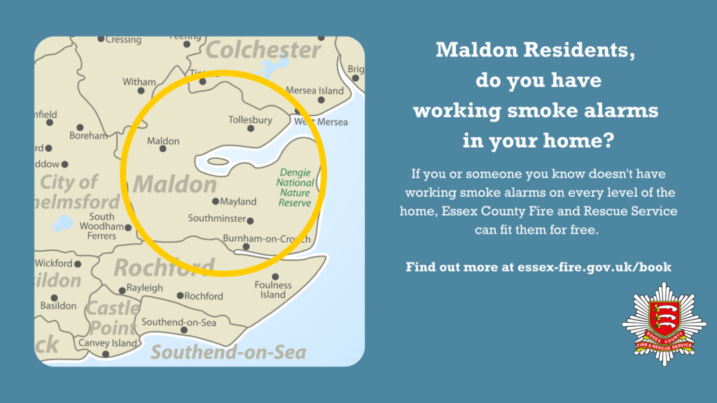 Maldon smoke alarms