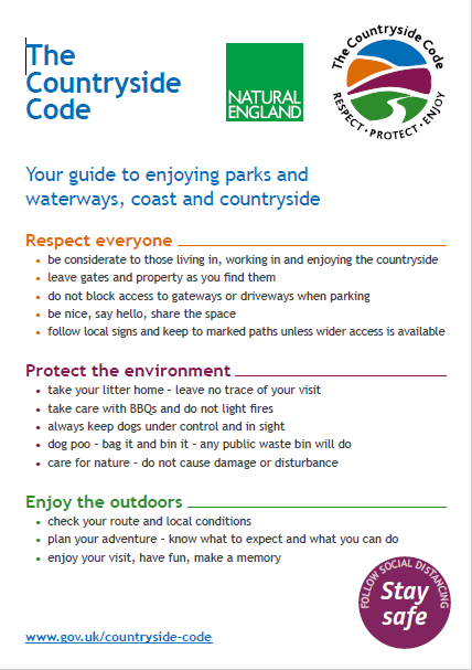 Countryside Code Page 1