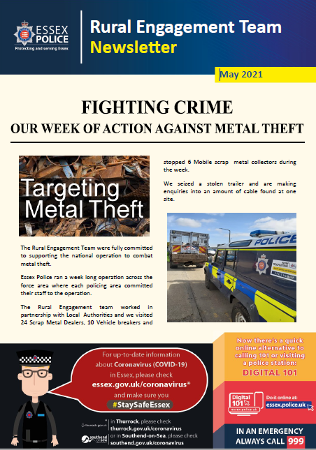 Rural Engagement Newsletter.May21